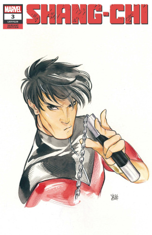 Shang-Chi #3 (Momoko Marvel Anime Cover)