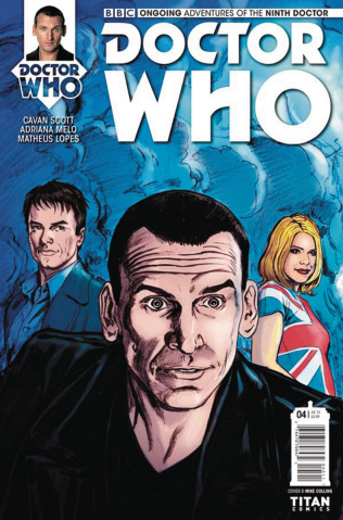 Doctor Who: New Adventures with the Ninth Doctor #4 (Collins Connecting Cover)