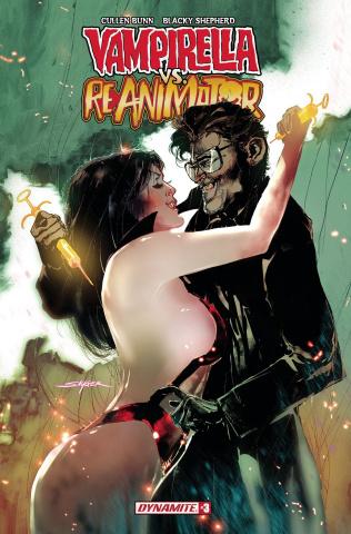 Vampirella vs. Reanimator #3 (Sayger Cover)