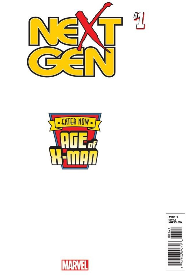 Age of X-Man: NextGen #1 (Secret Cover)