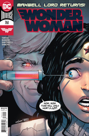 Wonder Woman #761 (David Marquez Cover)