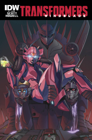 The Transformers: Windblade #7