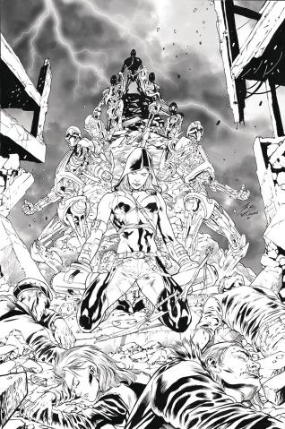 Robyn Hood: Vigilante #6 (Vitorino Cover)