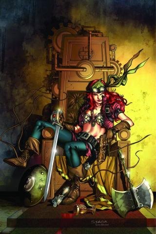 Legenderry: Red Sonja #5 (Davila Virgin Cover)