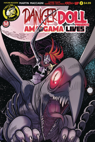Danger Doll Squad Presents: Amalgama Lives #2 (Young Cover)