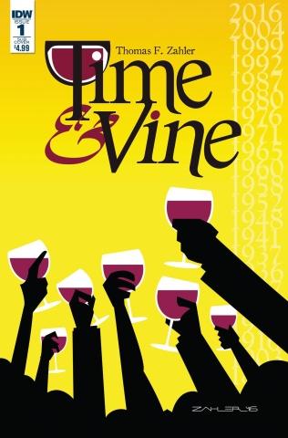 Time & Vine #1 (Zahler Cover)