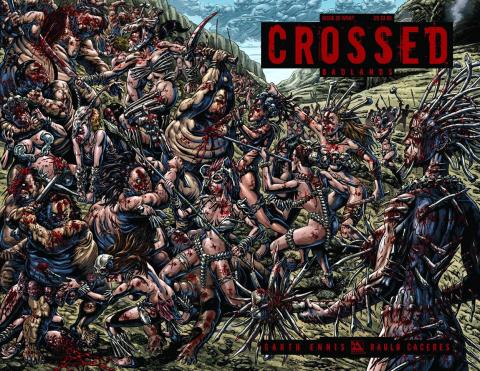 Crossed: Badlands #26 (Wrap Cover)