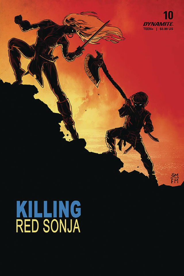 Killing Red Sonja #4 (Mooney Homage Cover)