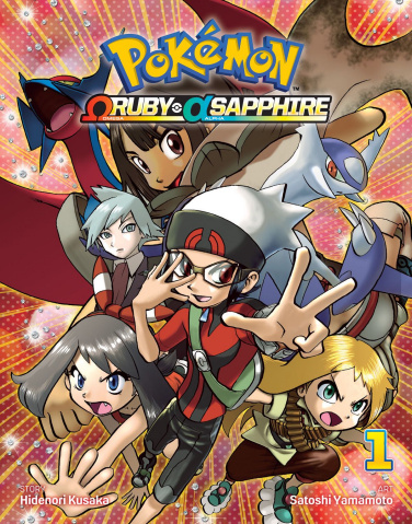 Pokémon: Omega Ruby, Alpha Sapphire Vol. 1