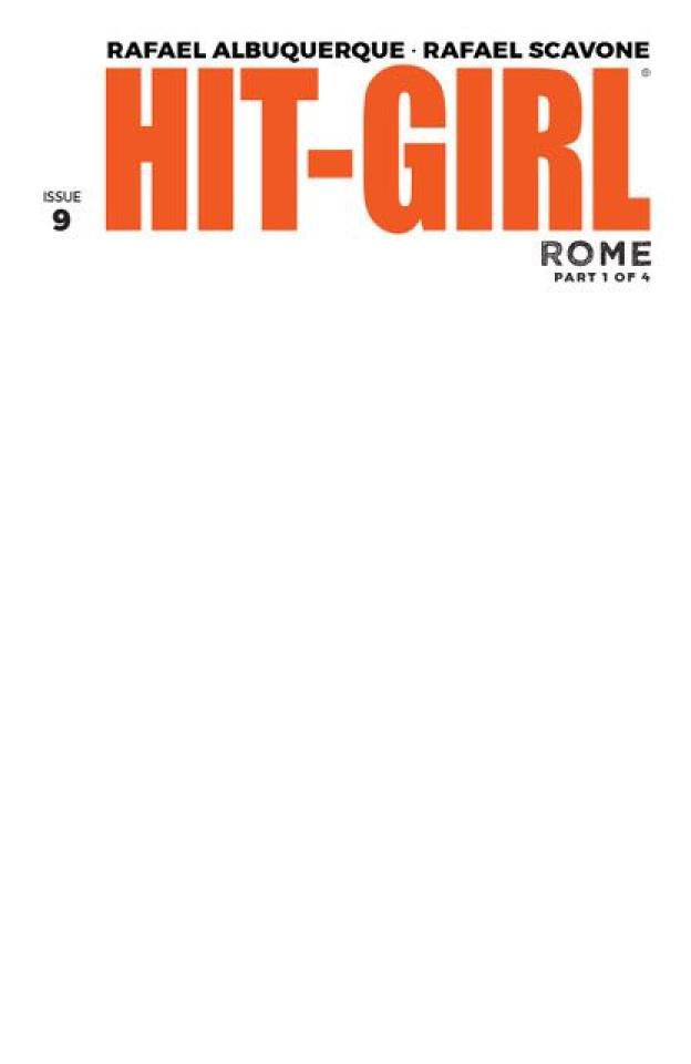 Hit-Girl #9 (Blank Cover)