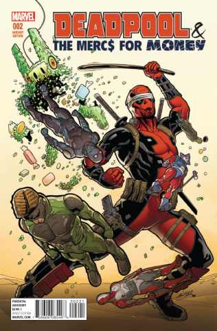 Deadpool and the Mercs For Money #2 (Sliney Cover)