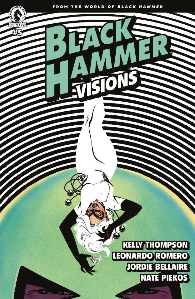 Black Hammer: Visions #5 (Wu Cover)
