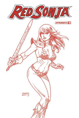 Red Sonja #14 (25 Copy Linsner Tint Cover)