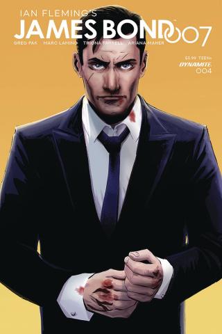 James Bond: 007 #4 (Moustafa Cover)