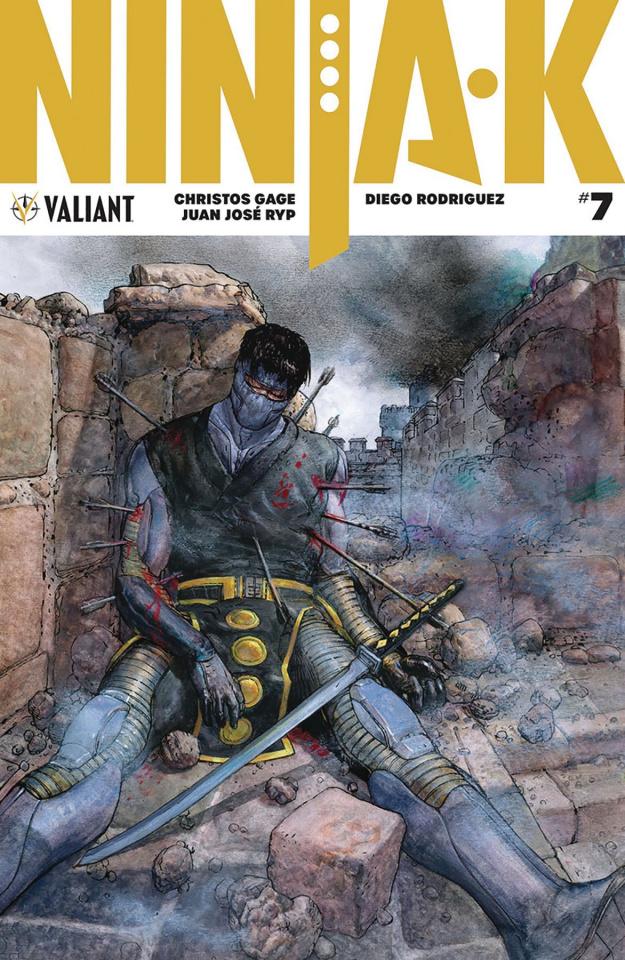 Ninja-K #7 (50 Copy Pastoras Cover)