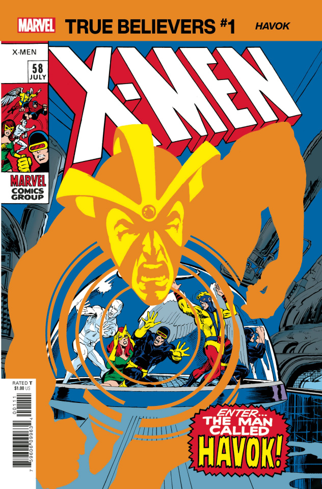 X-Men: Havok #1 (True Believers)