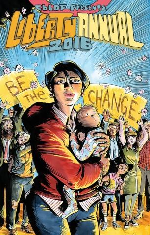 CBLDF Presents: Liberty Annual 2016 (Powell Cover)