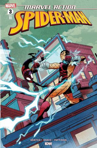 Marvel Action: Spider-Man #3 (10 Copy Greene Cover)