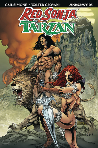 Red Sonja / Tarzan #5 (Castro Cover)