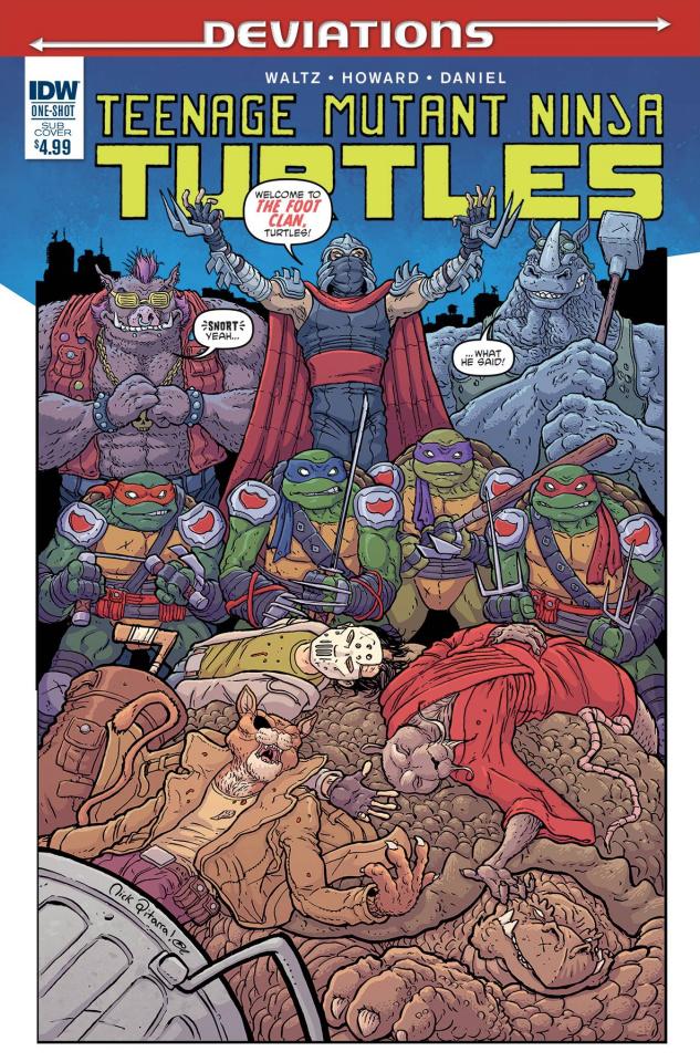 Teenage Mutant Ninja Turtles: Deviations (Subscription Cover)