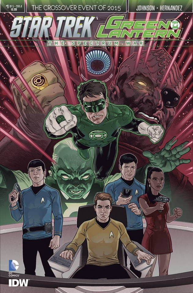 Star Trek / Green Lantern #1 (Rodriguez Cover)