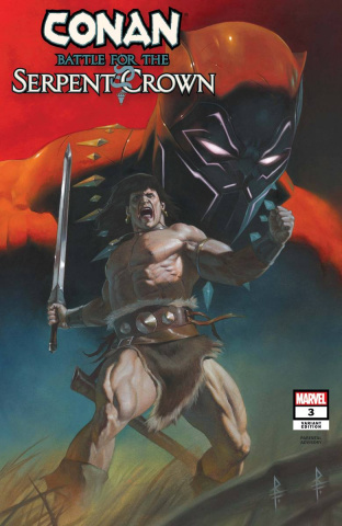 Conan: Battle for the Serpent Crown #3 (Federici Cover)