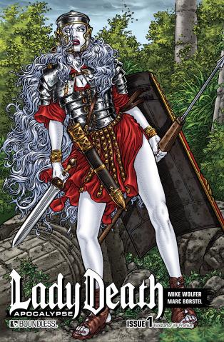 Lady Death: Apocalypse #1 (Kickstarter VIP Premium Cover)
