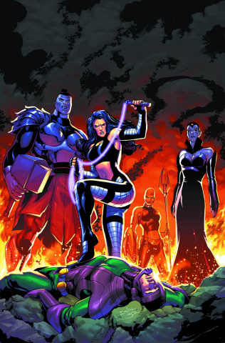 Infinity Man and the Forever People #8