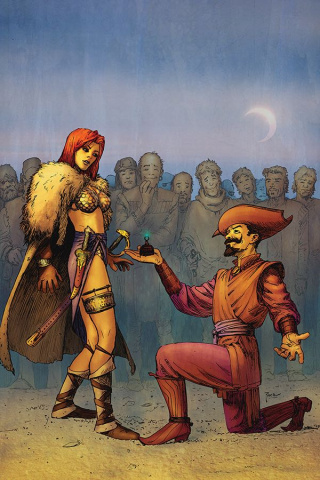 Red Sonja #6 (40 Copy Pace Virgin Cover)