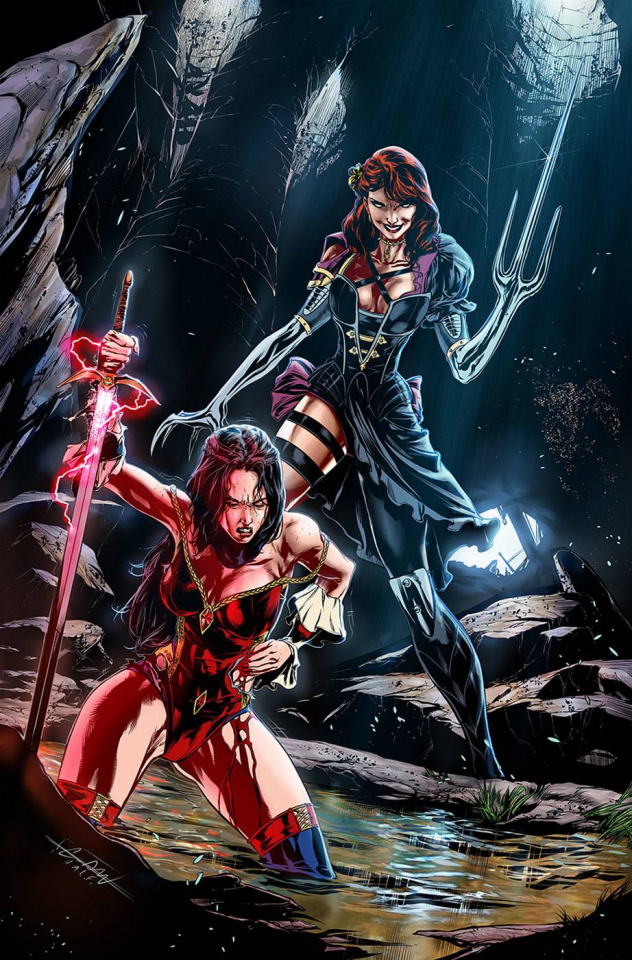 Grimm Fairy Tales #45 (Caanan White Cover)