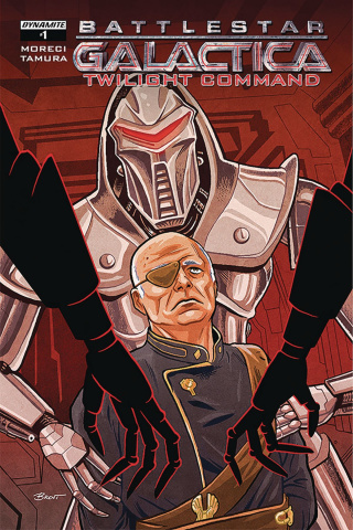 Battlestar Galactica: Twilight Command #1 (Schoonover Cover)