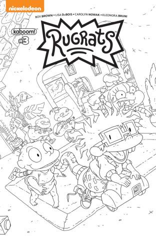 Rugrats #3 (Coloring Book Monlongo Cover)