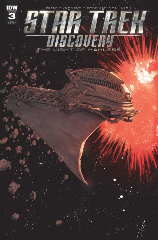 Star Trek: Discovery #3 (25 Copy Cover)