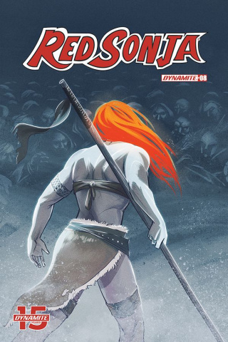 Red Sonja #8 (O'Meara Cover)