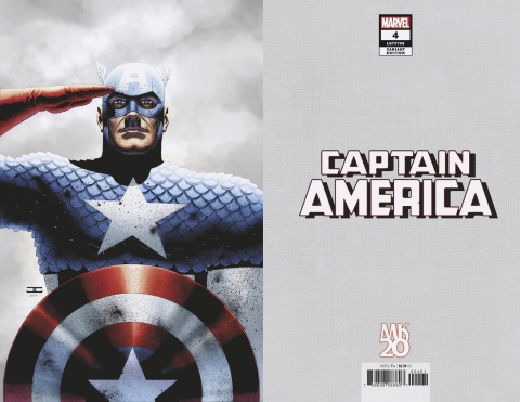 Captain America #4 (Cassaday Virgin Cover)