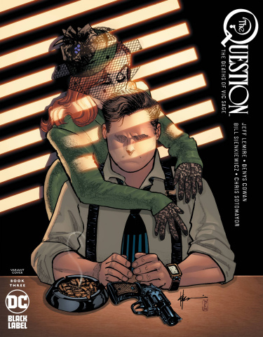 The Question: The Deaths of Vic Sage #3 (Chaykin Cover)