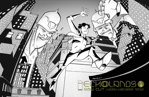 Echolands #3 (Oeming & Soma Raw Cut Edition)