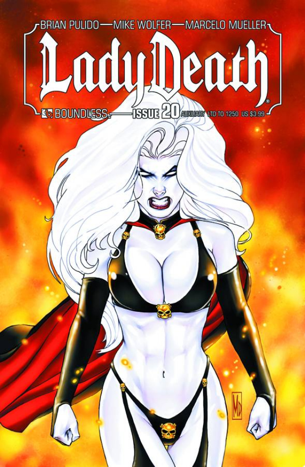 Lady Death #20 (Auxiliary Cover)