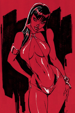Vampirella #1 (50 Copy Campbell Virgin Cover)