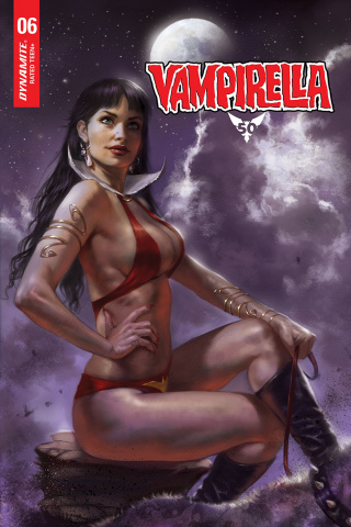 Vampirella #6 (25 Copy Parrillo Sneak Peek Cover)
