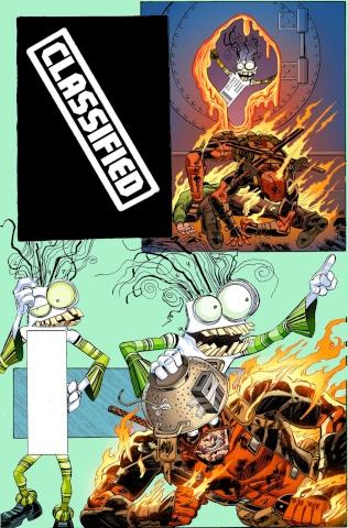 Deadpool #8 (Koblish Secret Comic Cover)