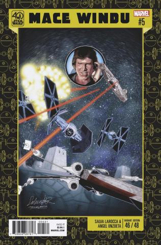 Star Wars: Mace Windu, Jedi of the Republic #5 (40th Anniversary Cover)