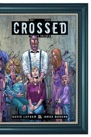 Crossed: Family Values #7 (Wrap Cover)
