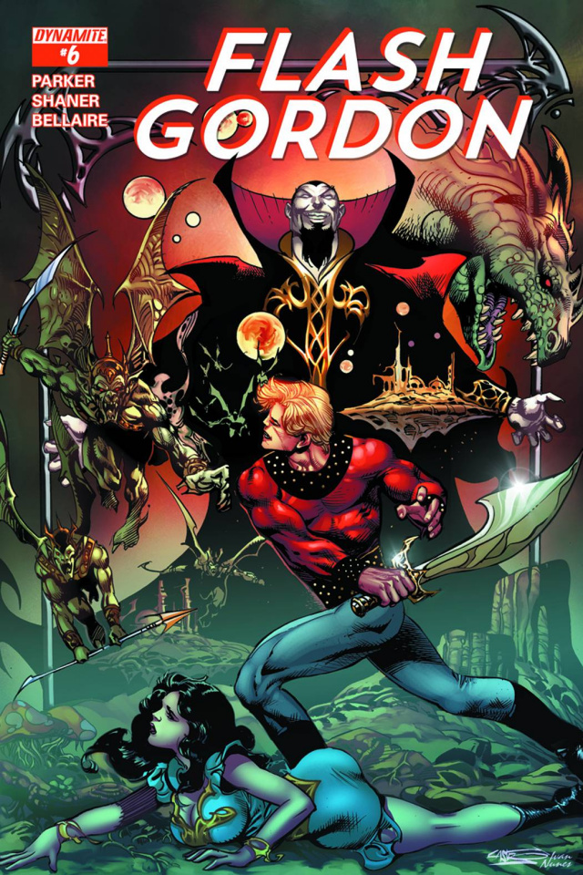 Flash Gordon #6 (80th Anniversary Castro Cover)