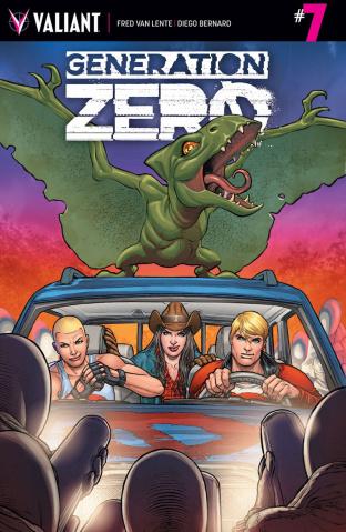 Generation Zero #7 (Ryp Cover)