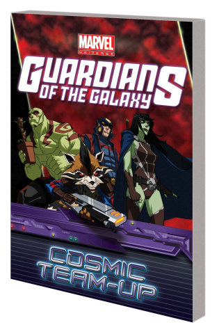 Guardians of the Galaxy: Cosmic Team Up Digest