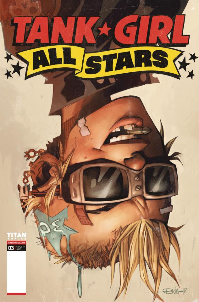 Tank Girl All Stars #3 (Parson Cover)