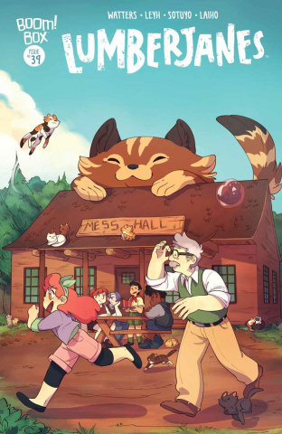 Lumberjanes #39 (Subscription Sotuyo Cover)