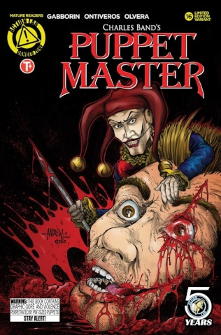 Puppet Master #16 (Mangum Kill Cover)