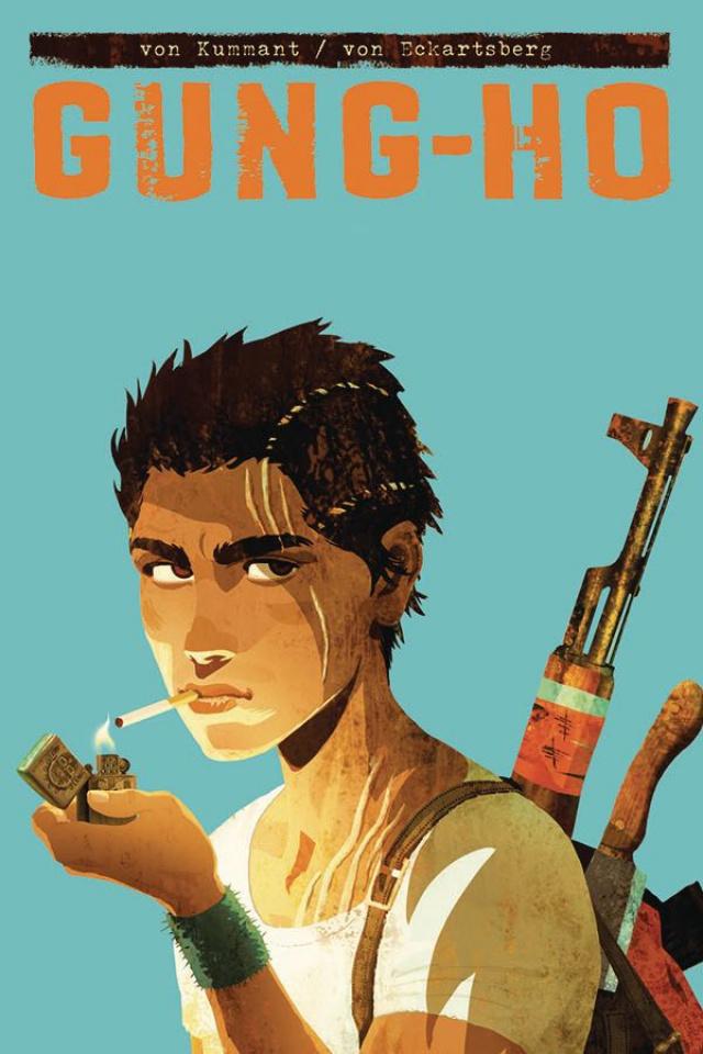 Gung-Ho #1 (Kummant Cover)